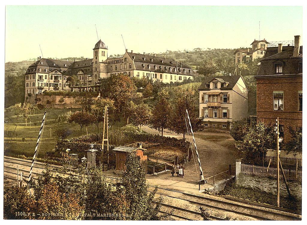[Baths of Marienberg, Boppard, the Rhine, Germany]
