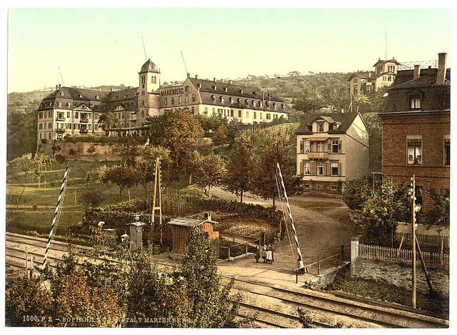 [Baths of Marienberg, Boppard, the Rhine, Germany]