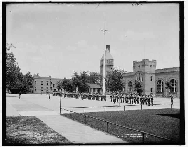 Battalion in the area, M.M.A., Orchard Lake, Michigan