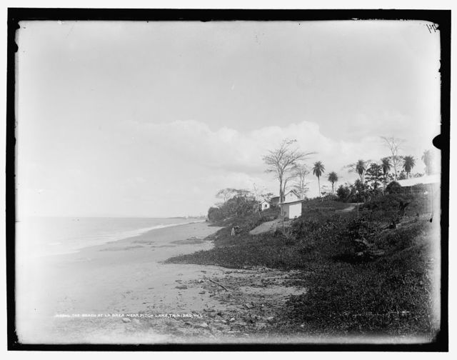 Beach at La Brea, near Pitch Lake, Trinidad, W.I., The