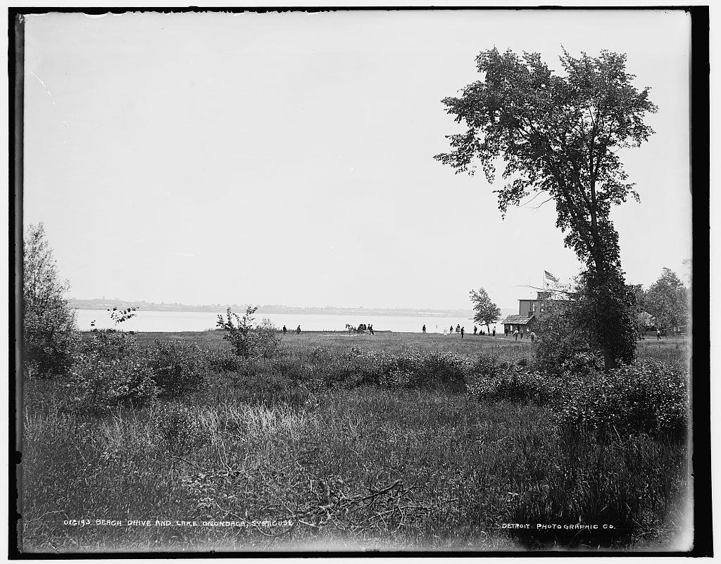 Beach Drive and Lake Onondaga, Syracuse