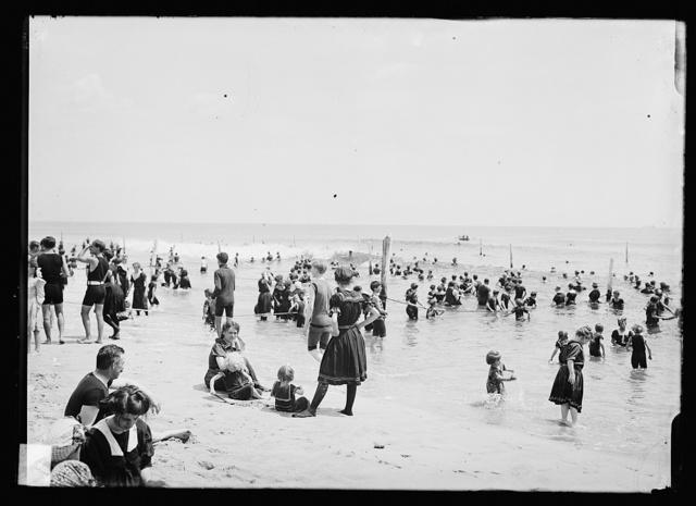 [Beach, possibly Atlantic City, N.J.]