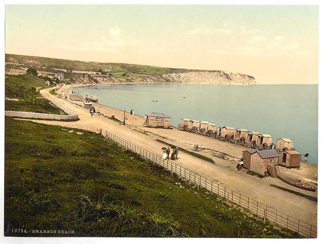 [Beach, Swanage, England]