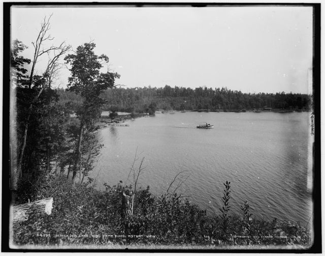 Beaver Dam Lake, Wis., Camp Dixon, distant view