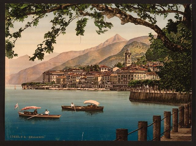 [Bellagio, general view, Lake Como, Italy]