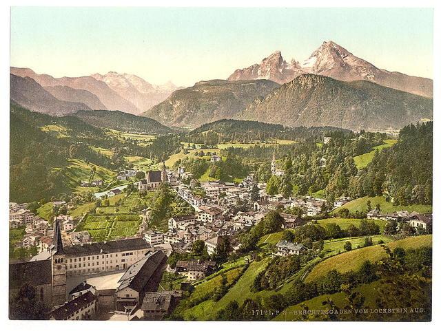 [Berchtesgaden from Lochstein, Upper Bavaria, Germany]