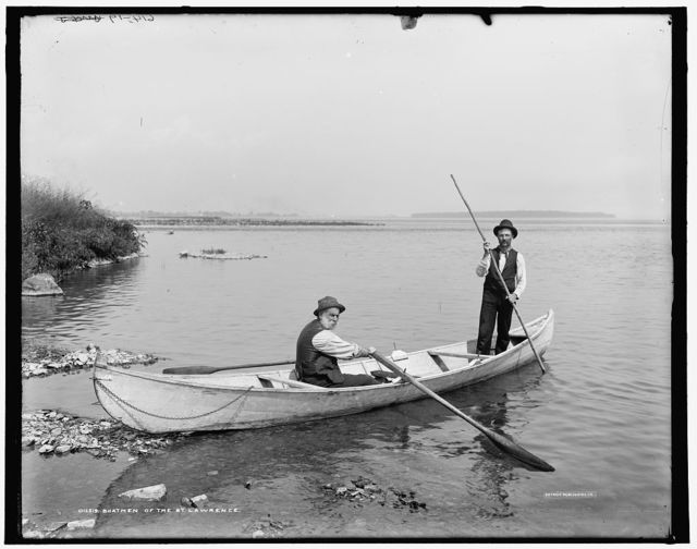 Boatmen of the St. Lawrence