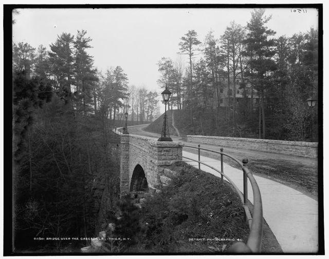 Bridge over the Cascadilla, N.Y.