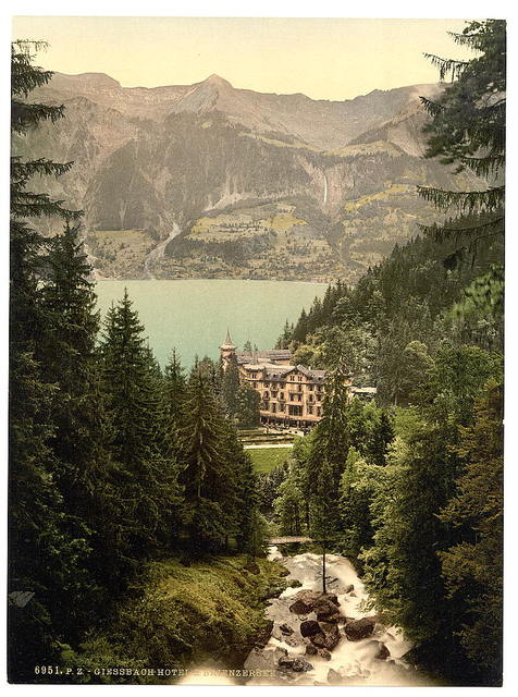 [Brienz Lake, Hotel Giessbach, Bernese Oberland, Switzerland]