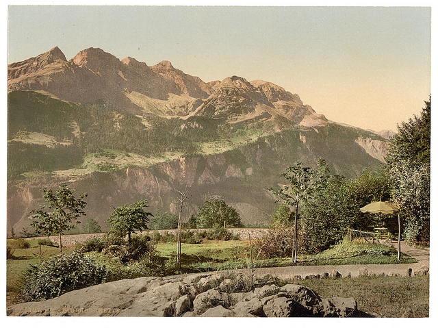[Brunig Spring House, the Faulhorn, Brunig, Bernese Oberland, Switzerland]