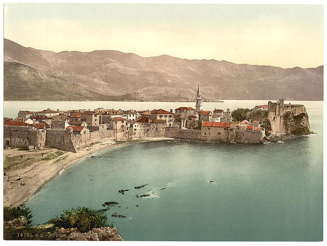 [Budua, general view, Dalmatia, Austro-Hungary]