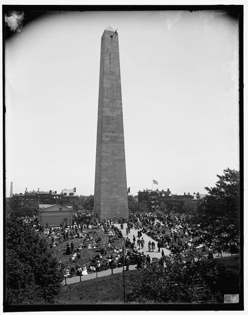 [Bunker Hill Monument, Bunker Hill Day, Boston, Mass.]