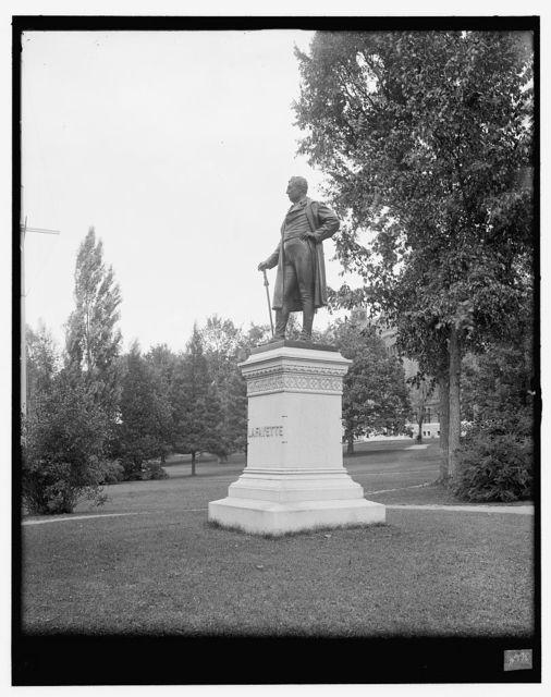 [Burlington, Vt., Lafayette Statue]