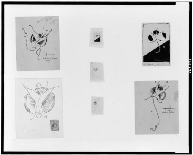[Butterfly designs]