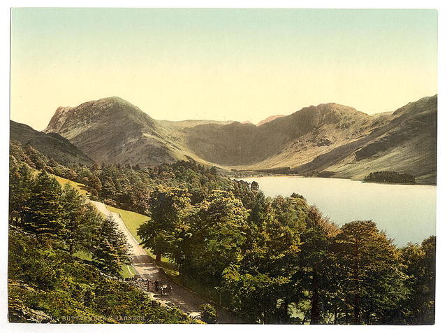 [Buttermere and Hasness, Lake District, England]