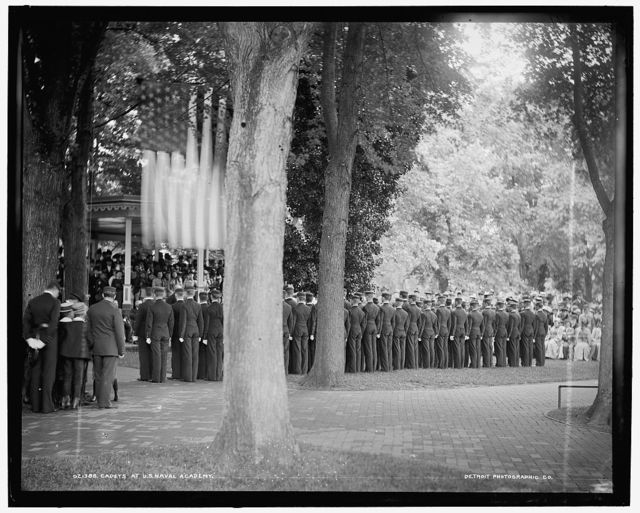 Cadets at U.S. Naval Academy