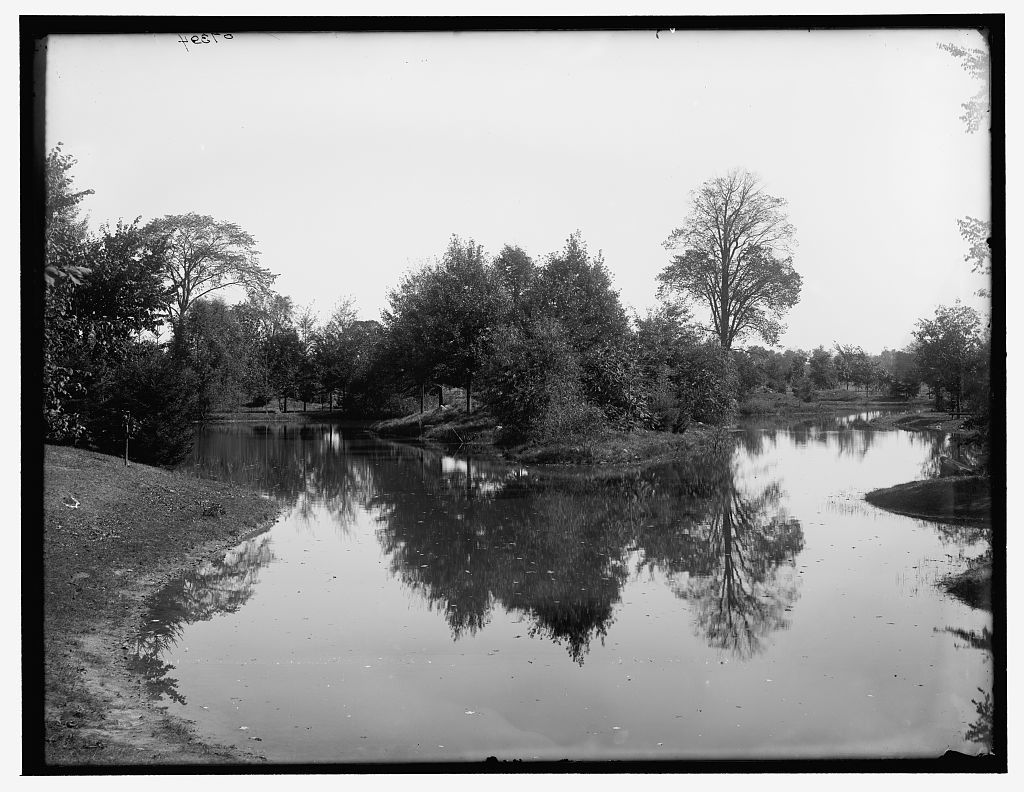 Canal in Palmer Park, Detroit