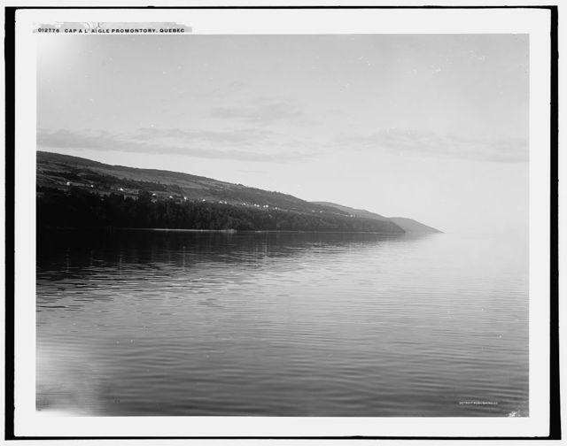 Cap a L'Aigle promontory, Quebec