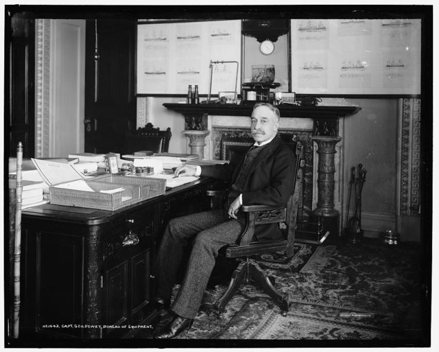 Capt. Geo. Dewey, Bureau of Equipment