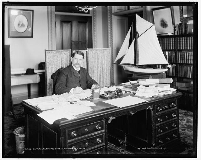 Capt. N.H. Farquhar, Bureau of Yards and Docks