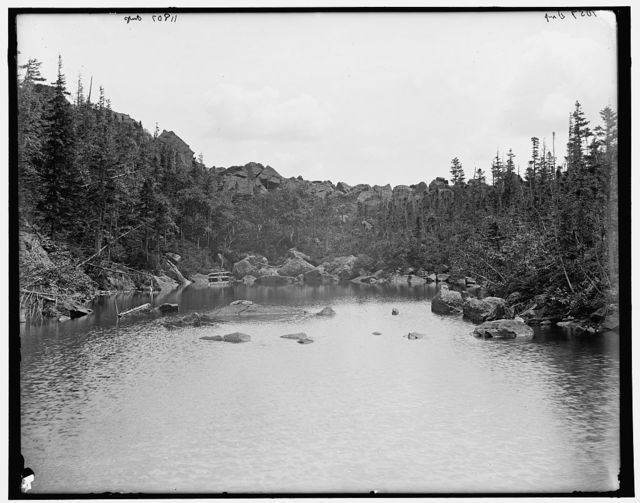 [Carter Notch looking south, White Mountains, New Hampshire]