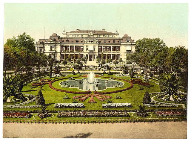 [Casino with Palm Garden, Frankfort on Main (i.e. Frankfurt am Main), Germany]