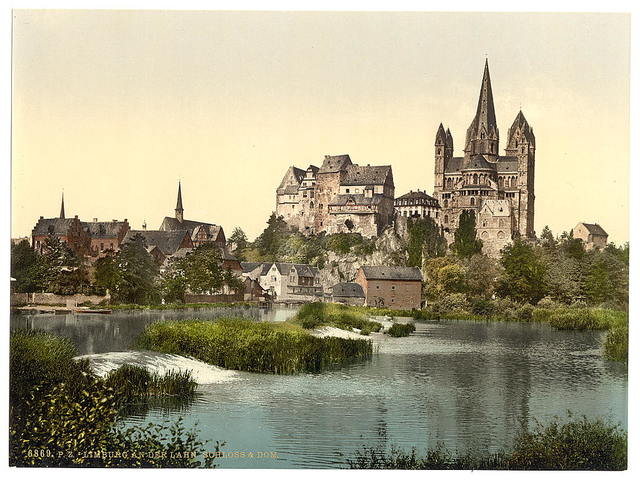 [Castle and cathedral, Limburg (i.e., Limburg an der Lahn), Hesse-Nassau, Germany]