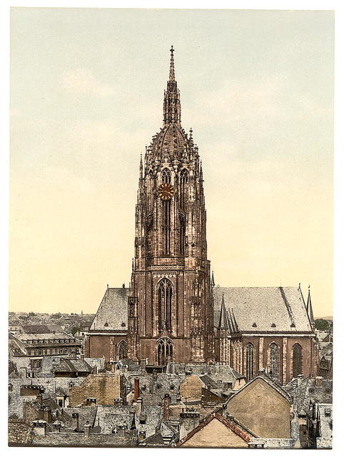 [Cathedral, Frankfort on Main (i.e. Frankfurt am Main), Germany]