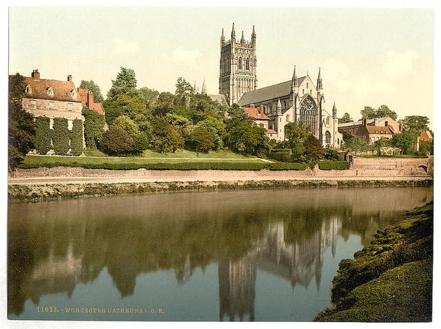 [Cathedral, S. E., Worcester, England]