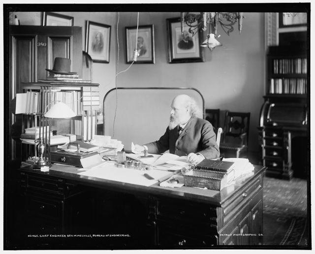 Chief Engineer Geo. W. Melville, Bureau of Engineering