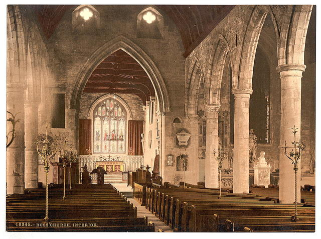 [Church, interior, Ross-on-Wye, England]
