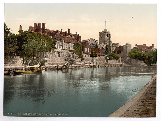 [Church, palace and college, Maidstone, England]