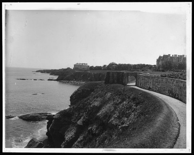 [Cliff Walk, Newport, R.I.]