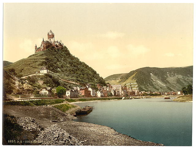 [Cochem and castle, Moselle, valley of, Germany]