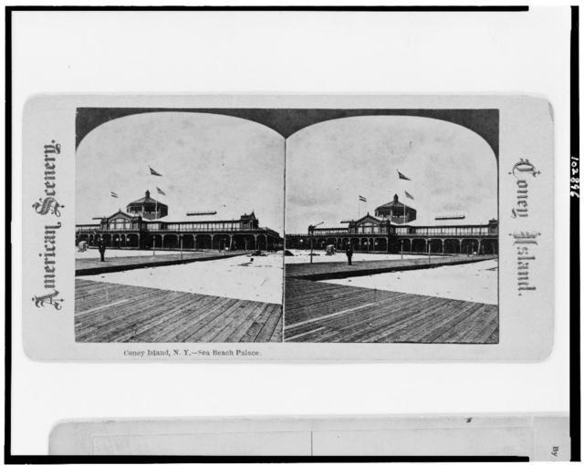 Coney Island, N.Y.--Sea Beach Palace