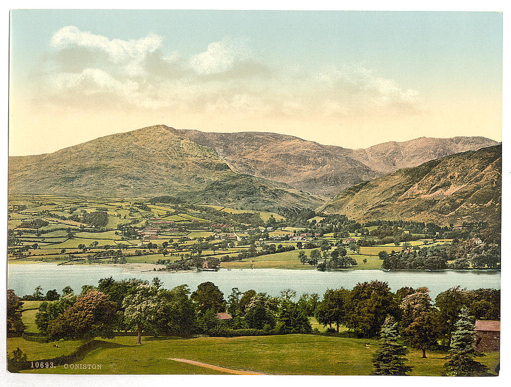 [Coniston, Lake District, England]