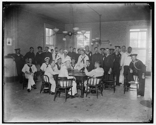 Convalescents, Brooklyn Navy Yard Hospital