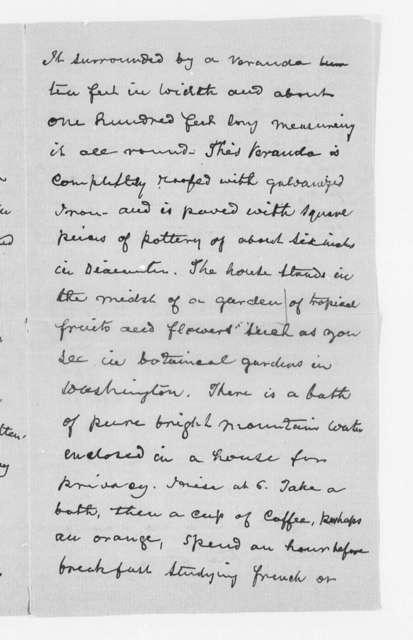 Correspondence, 1890