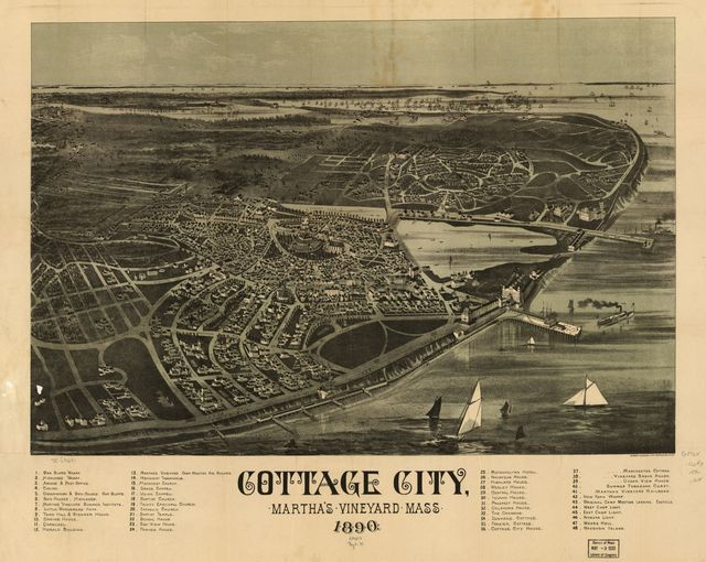 Cottage City, Martha's Vineyard, Mass. 1890.