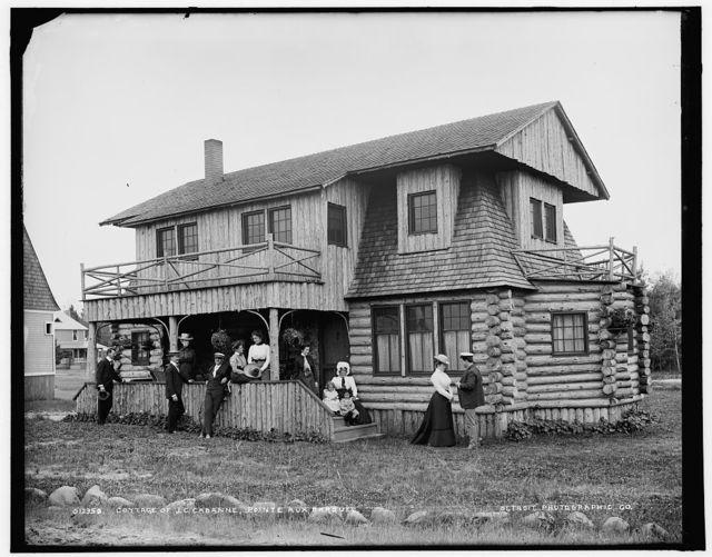 Cottage of J.C. Cabanne, Pointe aux Barques