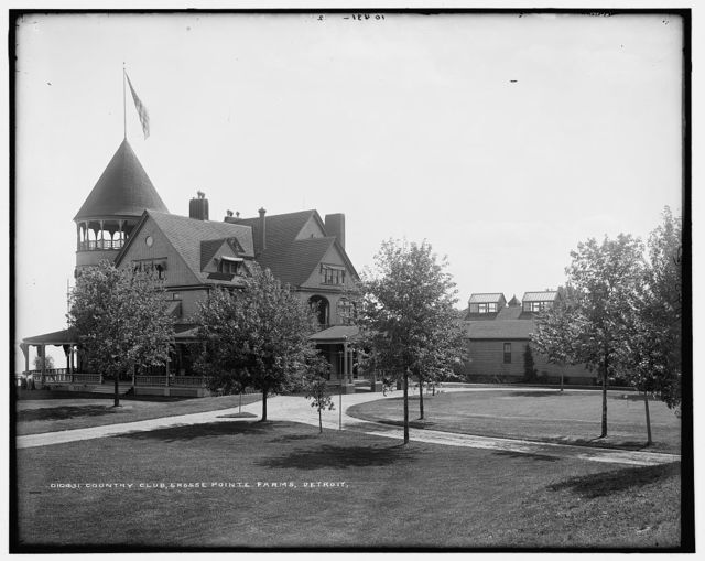 Country club, Grosse Pointe Farms, Detroit [sic]