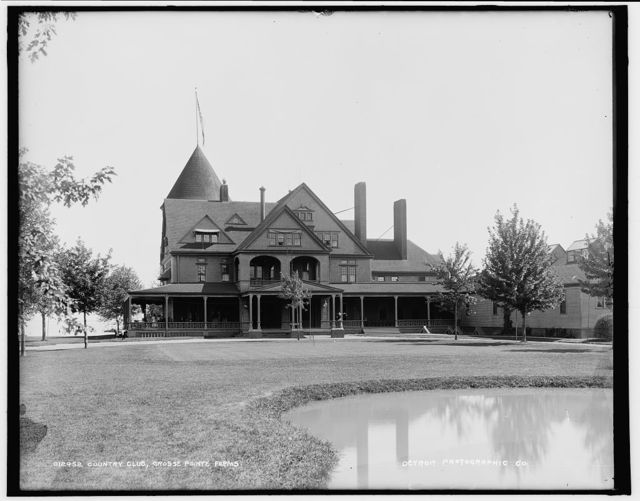Country club, Grosse Pointe Farms [sic]