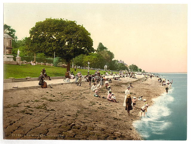 [Cowes, the green, I., Isle of Wight, England]