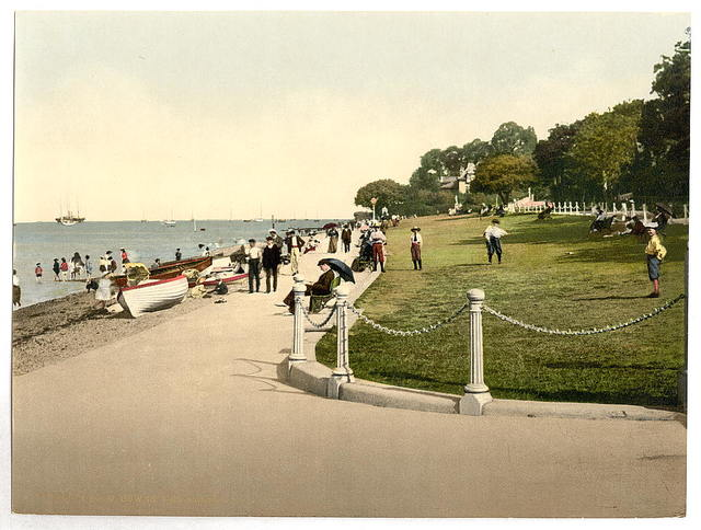 [Cowes, the green, II., Isle of Wight, England]