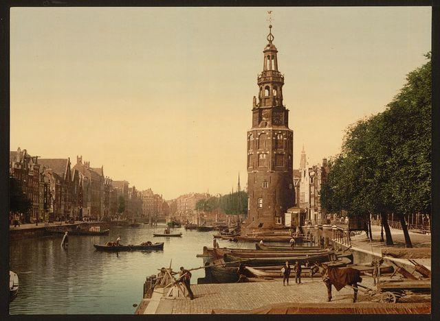 De Oude Schans, Amsterdam, Holland
