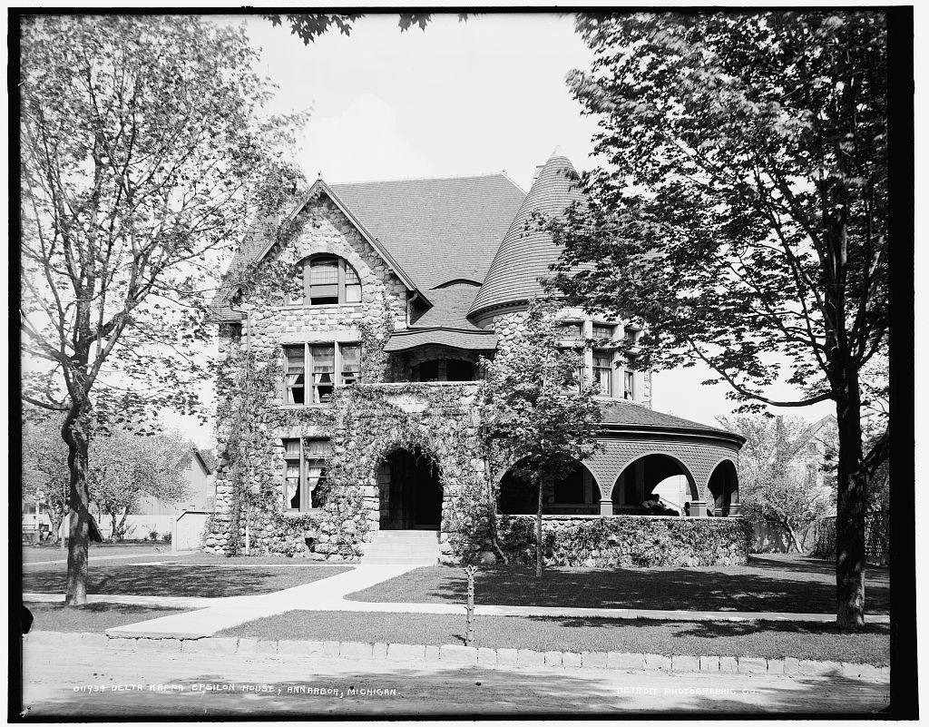 Delta Kappa Epsilon house, Ann Arbor, Michigan