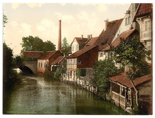 [Der Gross Venedig, Hildesheim, Hanover, Germany]