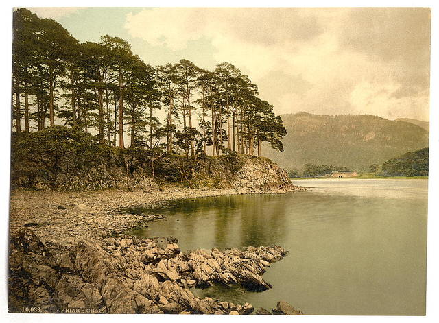 [Derwentwater and Keswick, Friars' Crag, Lake District, England]