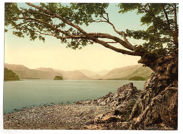 [Derwentwater, Keswick, from Friars' Crag, Lake District, England]