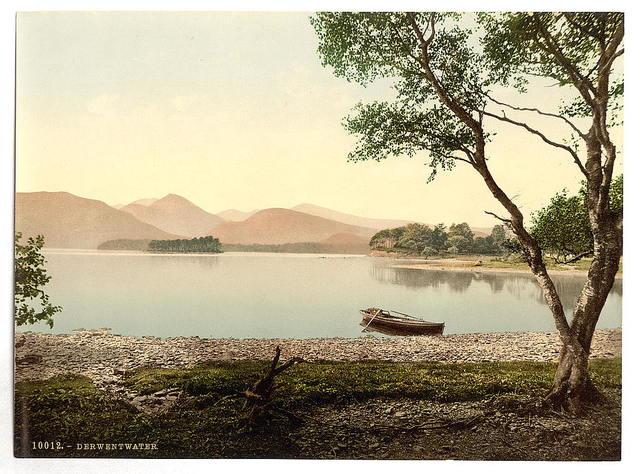 [Derwentwater, Scarfclose Bay, Lake District, England]